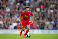 Cameron Brannagan of Liverpool in action during the 2016/17 Pre Season Friendly match between Tranmere Rovers and Liverpool at Prenton Park, Birkenhead, England on 8 July 2016. Photo by PRiME Media Images.