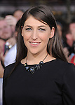 Mayim Bialik attends The world premiere of Summit Entertainment's THE TWILIGHT SAGA: BREAKING DAWN -PART 2 held at  Nokia Theater at L.A. Live in Los Angeles, California on November 12,2012                                                                               © 2012 DVS / Hollywood Press Agency