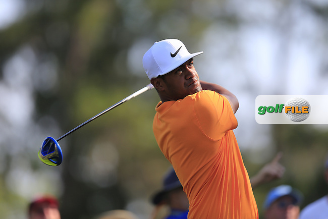 Tony Finau (USA) during round 1of the Players, TPC Sawgrass, Championship Way, Ponte Vedra Beach, FL 32082, USA. 12/05/2016.<br /> Picture: Golffile | Fran Caffrey<br /> <br /> <br /> All photo usage must carry mandatory copyright credit (&copy; Golffile | Fran Caffrey)
