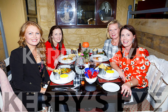 Enjoying a girls night out at the Brogue on Saturday were l-r Ciara Healy, Laura Healy, Noreen Healy and Jacinta Walsh