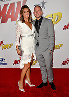 Collie Buddz &amp; Zarah DeSilva at the premiere for &quot;Ant-Man and the Wasp&quot; at the El Capitan Theatre, Los Angeles, USA 25 June 2018<br /> Picture: Paul Smith/Featureflash/SilverHub 0208 004 5359 sales@silverhubmedia.com