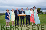 Cromane Rowing Club Committee Members pictured at Jacks' Restaurant, Cromane at the Club's 60th Birthday Celebration Dinner. L-R Mary Conway, Liane Teahan, Monty O'Neill, Mike Scannell, James Teahan, Martina Moriarty, Johanna King.