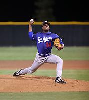 Josiah Gray - Los Angeles Dodgers 2019 spring training (Bill Mitchell)