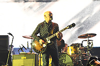 LONDON, ENGLAND - NOVEMBER 28: Bonehead (Paul Arthurs) performing at O2 Arena on November 28, 2019 in London, England.<br /> CAP/MAR<br /> ©MAR/Capital Pictures