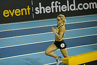 Photo: Ady Kerry/Richard Lane Photography.. Aviva European Trials and UK Championships, 14/02/2009..Jenny Meadows in the 800m heats.