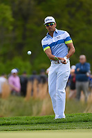 Rafael Cabrera Bello (ESP) chips on to 13 during round 4 of the 2019 PGA Championship, Bethpage Black Golf Course, New York, New York,  USA. 5/19/2019.<br /> Picture: Golffile | Ken Murray<br /> <br /> <br /> All photo usage must carry mandatory copyright credit (© Golffile | Ken Murray)
