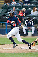 June 1, 2008: Tacoma Rainiers' Prentice Redman at-bat during a Pacific Coast League game against the Salt Lake Bees at Cheney Stadium in Tacoma, Washington.
