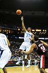 The New Orleans Hornets defeat the Portland Trailblazers, 95-91, in NBA action at the New Orleans Arena.  Images appear solely as a representation of my photography.