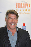 Guiding Light and As The World Turns actor Bryan Batt at the 27th Annual Broadway Flea Market & Grand Auction to benefit Broadway Cares/Equity Fights Aids in Shubert Alley, New York City, New York.  (Photo by Sue Coflin/Max Photos)