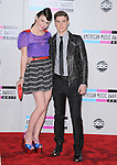 Amy Heidemann and Nick Noonan of the band Karmin  attends 2011 American Music Awards held at The Nokia Theater Live in Los Angeles, California on November 20,2011                                                                               © 2011 DVS / Hollywood Press Agency