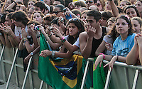 LISBOA, PORTUGAL, 01 JUNHO 2012 - ROCK IN RIO LISBOA - Publico durante o terceiro dia do Rock In Rio Lisboa que acontece na cidade do Rock em Lisboa capital de Portugal, nesta sexta-feira, 01.FOTO: VANESSA CARVALHO - BRAZ PHOTO PRESS.