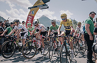 And they're off!<br /> <br /> 104th Tour de France 2017<br /> Stage 18 - Briancon › Izoard (178km)