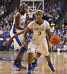 The University of Kentucky Women's Basketball team hosted DePaul University Friday, Dec 07, 2012 at Rupp Arena in Lexington. Photo by Kirsten Holliday