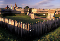 AJ3098, Fort Stanwix, fort, New York, Fort Stanwix National Monument in Rome in the state of New York.