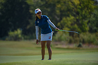 Wei-Ling Hsu (TPE) watches her putt on 12 during the round 3 of the Volunteers of America Texas Classic, the Old American Golf Club, The Colony, Texas, USA. 10/5/2019.<br /> Picture: Golffile   Ken Murray<br /> <br /> <br /> All photo usage must carry mandatory copyright credit (© Golffile   Ken Murray)