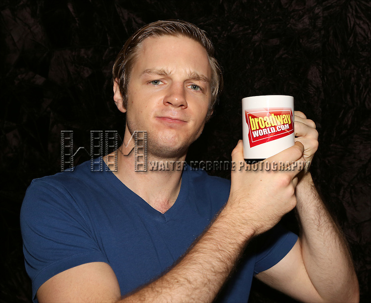 Will Pullen attends the Wake Up with Broadwayworld.com photo shoot with the cast of  'Punk Rock' at the Snapple Theatre Center on September 30, 2014 in New York City.