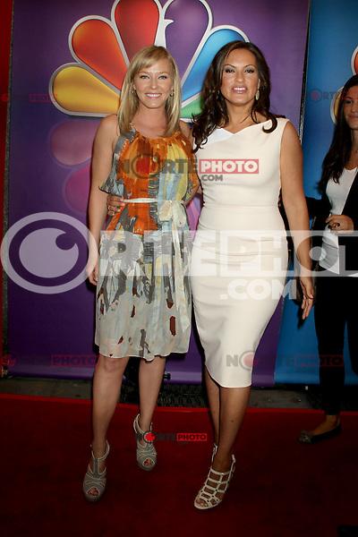 Kelli Giddish and Mariska Hargitay at NBC's Upfront Presentation at Radio City Music Hall on May 14, 2012 in New York City. ©RW/MediaPunch Inc.