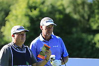Darren Clarke (NIR) during Wednesday's Pro-Am of the 2014 Irish Open held at Fota Island Resort, Cork, Ireland. 18th June 2014.<br /> Picture: Eoin Clarke www.golffile.ie