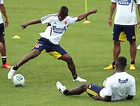 Entrenamiento Selección Colombia de fútbol  de mayores 24-05-2013