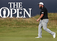 Andrew Johnston (ENG) heads up to the last during Round One of the 145th Open Championship, played at Royal Troon Golf Club, Troon, Scotland. 14/07/2016. Picture: David Lloyd | Golffile.<br /> <br /> All photos usage must carry mandatory copyright credit (&copy; Golffile | David Lloyd)
