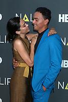 LOS ANGELES - JUL 27:  Mishel Prada, Tonatiuh at the NALIP 2019 Latino Media Awards at the Dolby Ballroom on July 27, 2019 in Los Angeles, CA
