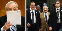 Karlheinz Schreiber testifies before the Commons ethics committee on Parliament Hill in Ottawa on Nov 29, 2007..The Canadian Press/Sean Kilpatrick.