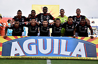 MONTERÍA - COLOMBIA, 23-02-2019: Los jugadores de Cúcuta Deportivo posan para una foto, antes de partido entre Jaguares F. C. y Cúcuta Deportivo de la fecha 6 por la Liga Águila I 2019, en el estadio Jaraguay de Montería de la ciudad de Montería. / The players of Cucuta Deportivo  pose for a photo, prior a match between Jaguares F. C., and Cucuta Deportivo, of the 6th date for the Leguaje Aguila I 2019 at Jaraguay de Montería Stadium in Monteria city. Photo: VizzorImage / Andrés López  / Cont.