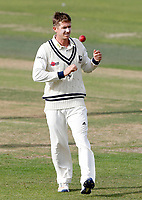 Joe Denly prepares to bowl for Kent during the Specsavers County Championship division two game between Kent and Glamorgan at the St Lawrence Ground, Canterbury, on Sept 18, 2018
