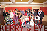 CELEBRATIONS: Celebrations as the son of Ray Hanafin, Cloonard,Tralee and Clodagh Lynch Kileen Woods Tralee Deyn Lynch after his baptisim in St Brendan's Church, Tralee and afterwards with Family and friends in the Meadowlands Hotel, Tralee to mark the occasion.......... ..........