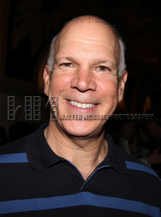 David Zippel.attending the reception for the final performance of the New York City Center ENCORES! Production of 'Gentlemen Prefers Blondes' at City Center in New York City on 5/13/2012.
