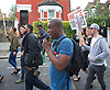 Mark Duggan <br /> march and demonstration / vigil at the Broadwater Estate and outside Tottenham Police Station, Tottenham, London, Great Britain <br /> 4th August 2017 <br /> <br /> on the 6th anniversary after he was killed in 2011. <br /> Stafford Scott was a co-founder of the Broadwater Farm Defence Campaign in 1985, and is now a consultant on racial equality and community relations <br /> <br /> <br /> <br /> Photograph by Elliott Franks <br /> Image licensed to Elliott Franks Photography Services