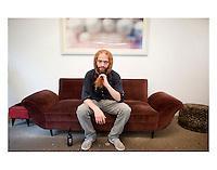 Mauricio Limon, at Kurt and Rocio's house in the Condesa, Mexico City.