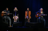 13 April 2018 - Las Vegas, Nevada - Little Big Town, Jimi Westbrook, Kimberly Schlapman, Karen fairchild, Philip Sweet.  ACM Party For A Cause ACM Stories, Songs & Stars at The Joint inside The Hard Rock Hotel and Casino. Photo Credit: MJT/AdMedia