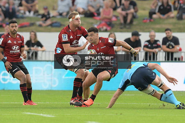 NELSON, NEW ZEALAND - FEBUARY 1: Round 1 Investec Super Rugby, Crusaders v Waratahs, Trafalgar Park, Nelson, New Zealand. Saturday 1st Febuary 2020. (Photos by Barry Whitnall/Shuttersport Limited)