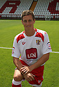 David Bridges of Stevenage at the Stevenage FC team photo shoot at The Lamex Stadium, Broadhall Way, Stevenage on Saturday, 24th July, 2010.© Kevin Coleman 2010