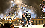 AC/DC performs at the Sommet Center in Nashville, Tennessee on Saturday, Januaryac 31, 2009. (Photo by Frederick Breedon)