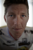 Sep Vanmarcke (BEL/LottoNL-Jumbo) in his hotel room before a training ride