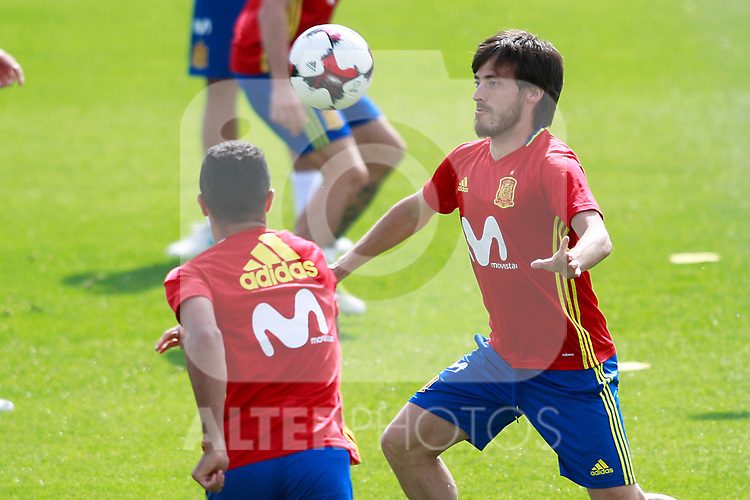 Spain's David Jimenez Silva during training session. June 9,2017.(ALTERPHOTOS/Acero)