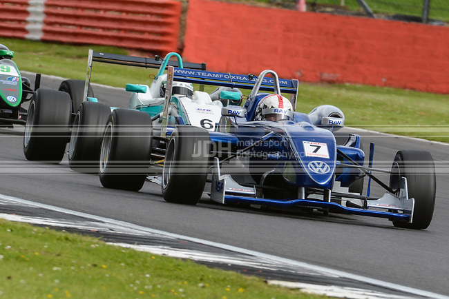 Robbie Watts - Team Fox Racing Dallara F308 Volkswagen-Spiess