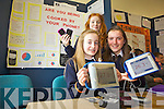 Lauren McGaley, Lauren Kelly and Emma McCarthy from Presentation Tralee at the ITT Science Fest on Tuesday asked 'Are you being cooked by your phone?