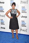 SANTA MONICA, CA - FEBRUARY 25: Actress Kerry Washington attends the 2017 Film Independent Spirit Awards at the Santa Monica Pier on February 25, 2017 in Santa Monica, California.