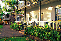 Built in 1834, the original missionary home and museum of the Rev. Dwight Baldwin can be visited on Front Street in Lahaina.