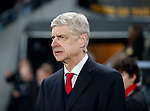 Arsene Wenger manager of Arsenal - English FA Cup - Hull City vs Arsenal - The KC Stadium - Hull - England - 8th March 2016 - Picture Simon Bellis/Sportimage