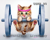 Kayomi, CUTE ANIMALS, paintings, Let'sGetPhysical_M, USKH90,#AC# stickers illustrations, pinturas ,everyday