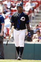 May 23, 2009:  Wily Mo Pena of the Buffalo Bisons, International League Triple-A affiliate of the New York Mets, at bat during a game at Coca-Cola Field in Buffalo, NY.  Photo by:  Mike Janes/Four Seam Images