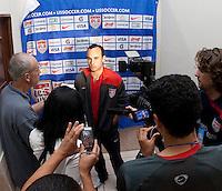 Landon Donovan after FIFA World Cup qualifier against El Salvador. USA tied El Salvador 2-2 at Estadio Cuscatlán Stadium in El Salvador on March 28, 2009.