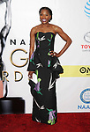 PASADENA, CA - FEBRUARY 11: Actress Rutina Wesley arrives at the 48th NAACP Image Awards at Pasadena Civic Auditorium on February 11, 2017 in Pasadena, California.