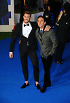 Bruno Tonioli and Matt Law at the European premiere, of Mary Poppins Returns, Royal Albert hall. London.