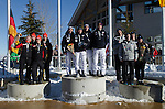 Awards Ceremony JR World Championship Luge