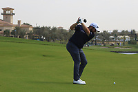 Shane Lowry (IRL) on the 18th during the Preview of the Saudi International at the Royal Greens Golf and Country Club, King Abdullah Economic City, Saudi Arabia. 28/01/2020<br /> Picture: Golffile | Thos Caffrey<br /> <br /> <br /> All photo usage must carry mandatory copyright credit (© Golffile | Thos Caffrey)